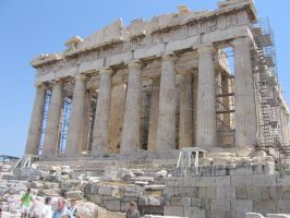 The Parthenon by sofoolkate