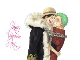 The Excellent Scene of Zoro and Luffy by IchigoGyunyu