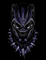 Black Panther by UchihaAvenger666