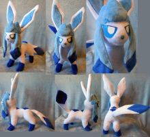 Shiny Glaceon (up for sale) by Rens-twin
