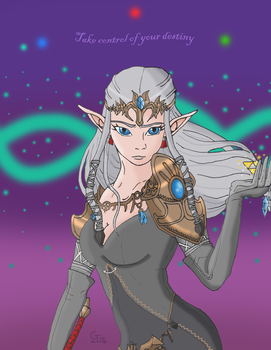 Dark Zelda by Xiroch