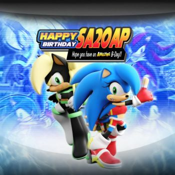 Happy Birthday SA2OAP (SADX Style) by ModernLixes