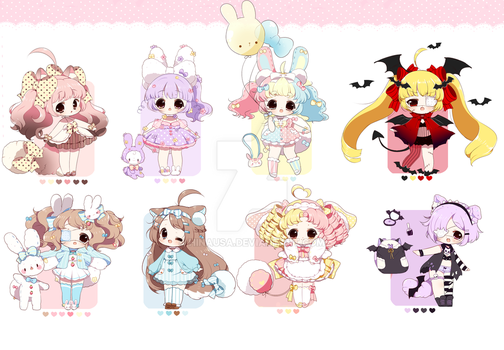 Cute Adopts:: closed by Hinausa