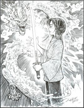 The Dragon Sword by Achiru-et-al