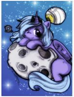 SPAAAACE with Luna by Danielle-chan