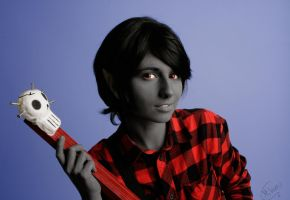 Marshall Lee cosplay by Andivicosplay