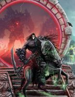 Darksiders 2 Key art 3 by HalHefnerART