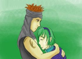 Nino and Jaffar by picklelova