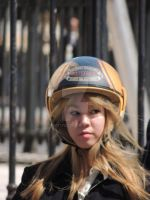 beauty in a helmet by amitm123