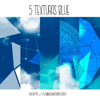 5 Textures BLUE by LcyHi