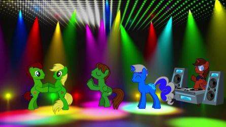 Oc Dance Party by SwiftgaiatheBrony