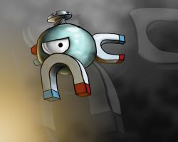 Magnemite Mustache by allthatisfuzzy