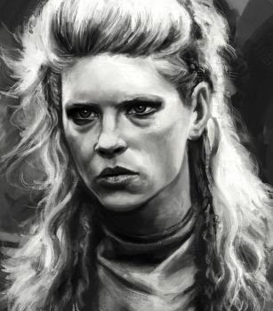 Katheryn Winnick sketch 3 by tonyob