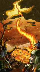 IK Cards: Fire Storm by puttin-on-the-Ritz