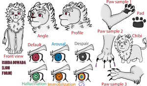 Ishishida reference sheet by AkaiFenneku