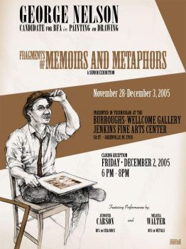 Memoirs and Metaphors Poster by wakasashe