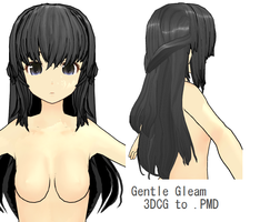 MMD- Gentle Gleam -DL by MMDFakewings18