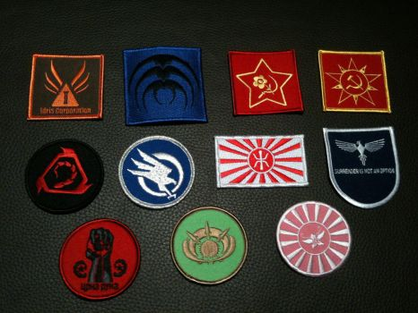 Command and Conquer badges by CnCSaga