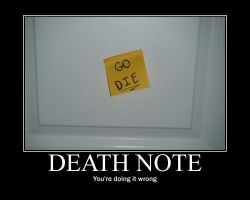 Death Note? by ParamourxLights