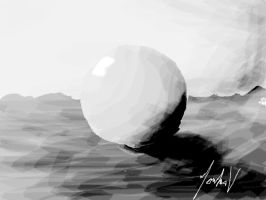 Ball - Photoshop painting by Roadstar91