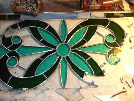 Tradition piece, wip 2 by glasslinger
