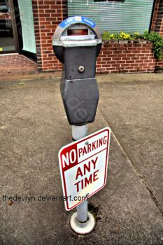 No Parking by TheDevlyn