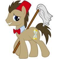 Doctor Whooves by 1414HolyFlanders