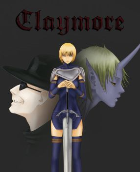 Claymore by Scilentor