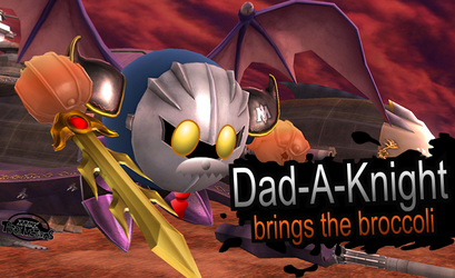 NEW SMASH BROS. CHARACTER: DAD-A-KNIGHT! by MarkProductions