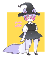 feline moon witch adoptable CLOSED by creamwave