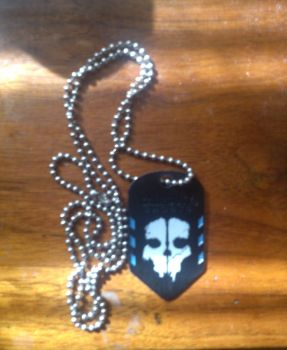 Ghosts Dog tags by aidenisawesomelol