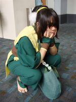 Toph is Waiting by Plunkqwette