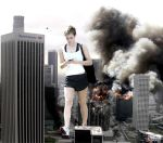 Giantess Emma Watson - LA Inspection by GiantessStudios101