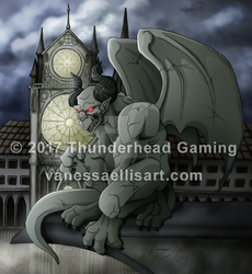 Commission:  Gargoyle