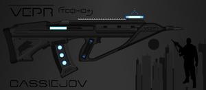Vepr Industries - Railgun Rifle 'Cassiejov' by prokhorvlg