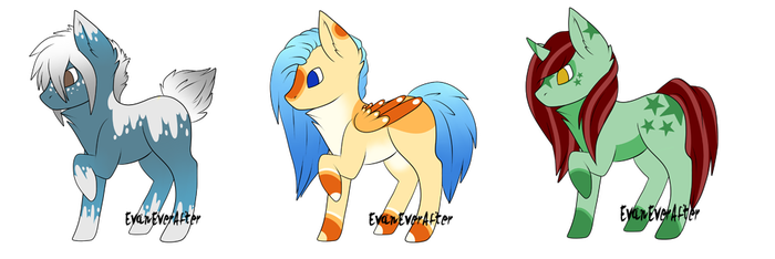 Pony Adopts [OPEN] by PineappleSwizzle
