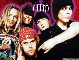 HIM band BG by KriticKilled