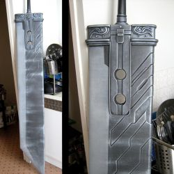 Zack's Buster Sword -WiP 3- by InfectedGuili