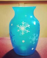 One more throwback to 2015 Snow Flake Tea Light by WowLovely88
