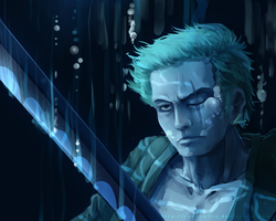 OP: Zoro's Underwater Fight by Yamineftis