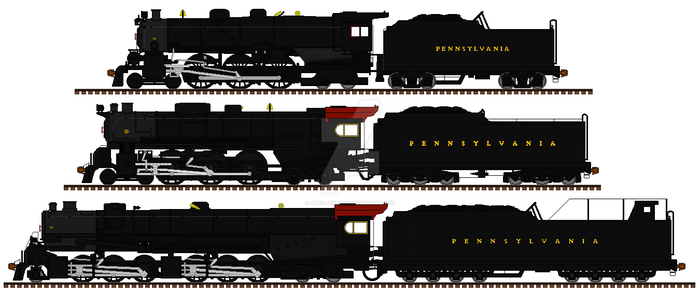PRR Superpower- P series and J2 by mrbill6ishere