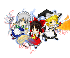 Touhou 14 - Double Dealing Character by Babero