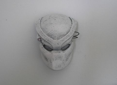 Wite predator mask modeling by ChrisWeyer