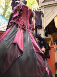 Renn Faire Dress by SinboundPhotography