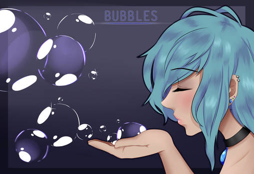 -Original- Bubbles by Megu-H