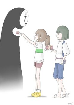 Spirited Away by isoscelestriangle