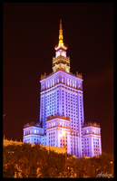 Palace of Culture and Science by Aaken