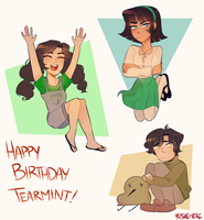 Happi bday mint by yosuehere