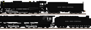 New York Central Steam Freight by mrbill6ishere