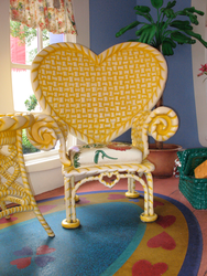 Garden Chair for Minnie MK WDW by WDWParksGal-Stock